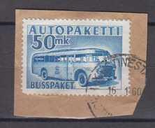 Finnland Finland Auto Paket Mi# 8 Used On Fragment