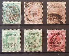 "UK Colonies ""India States"" - Lot (O) - état B/TB - 1 Scan (s) E6914"