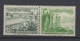 Deutsches Reich / Winterhilfswerk: Schiffe  / MiNr. 654, 655 - Deutschland