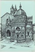 Cartolina - Cappella Colleoni E S. Maria Maggiore - Bergamo. - Bergamo