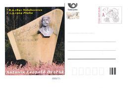 Czech Rep. / Postal Stat. (Pre2016/40) Antonin Dvorak (1841-1904) Czech Composer