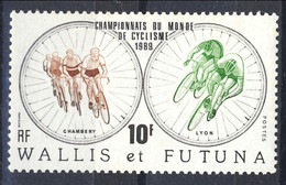 WF 1989 N. 390  Mondiali Di Ciclismo MNH Cat. € 0.80 - Wallis E Futuna
