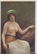 """NU_NUE_NUS_NUDE_NAKED WOMAN-NUDI ARTISTICI-""""Femme à La Statuette"""" Mme SAIZEDE Pinxit-Original D'epoca 100%- - Pittura & Quadri"""