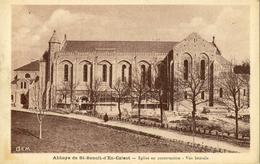 CPA  ( 81)  DOURGNE Abbaye De St Benoit D En Calcat Eglise En Construction - Dourgne
