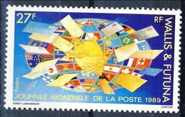 WF 1989 N. 391  Giornata Della Posta MNH Cat. € 1 - Wallis E Futuna