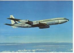 AVION - THEME AVIATION - BOEING 707 B INTERCONTINENTAL  -CIE AIR FRANCE - 1946-....: Moderne