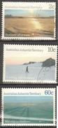 Territorio Antartide Australiano 1987 Paesaggi 3v 2-10-60c. Fine Used - Usati
