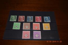 FRANCIA 1945/1947 - Y&T N° 706-711, Type  ARC De TRIOMPHE + MARIANNE DE GANDON N° 716A, 716B, 718A, 719A, 719B Neuf**