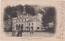 Carte Postale Ancienne,38,isere,URIAGE LES BAINS,LES THERMES,1909