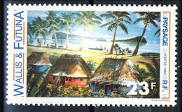 WF 1989 N. 392 Paesaggio MNH Cat. € 1.10 - Wallis E Futuna