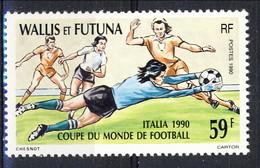WF 1990 N. 396  MNH Mondiali Di Calcio In Italia Cat. € 1.80 - Wallis E Futuna