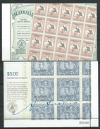 Australia 2004/2005 Treasures From The Archives.Post & Philately/Stamps On Stamps.MNH