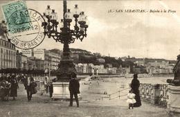 SAN SEBASTIAN  BAJADA A LA PLAYA - Guipúzcoa (San Sebastián)