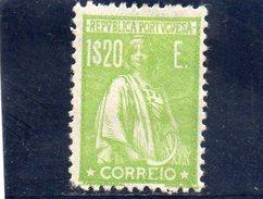 PORTUGAL 1917-24 * DENT 12x11.5