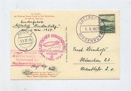 1937 ZEPPELIN HINDENBURG ABWURF KÖLN SCHÖNE BORDPOST KARTE SIEGER 453A