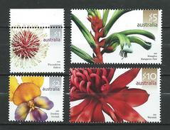 Australia 2006 Australian Wildflowers.flowers.orchids.MNH