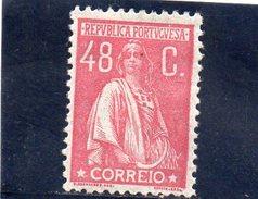 PORTUGAL 1923-4 *