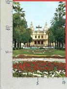 CARTOLINA VG MONACO - MONTE CARLO - Le Casino Et Ses Jardins - 10 X 15 - ANN. 1974 - Monte-Carlo