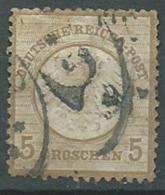 Allemagne    -   -  Yvert N°  6 Oblitéré  ( Oblitération Lourde )  - Cw 24004