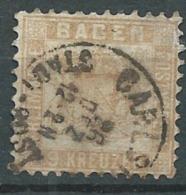 Bade -   -  Yvert N°  19 A  Oblitéré   - Cw 24006