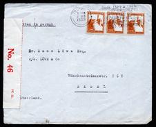 A4493) Palästina Israel Brief Von Tel Aviv 2.10.39 Nach Basel / Schweiz - Palästina