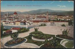 °°° 965 - FIRENZE - PANORAMA DAL PIAZZALE MICHELANGELO - 1918 TIMBRO CENSURA POSTA MILITARE °°° - Firenze (Florence)