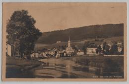 Travers Et L'Areuse - Phototypie No. 6160 - NE Neuchatel