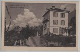 Pension Della Valle, Brione S/Locarno - Animee - Photo: Fretz-freres - TI Tessin