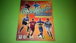 Calciatori 2001-02 Album +120 Figurine  Stikers   Panini - Panini