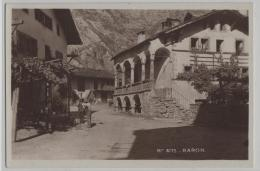 Raron - Animee - Maxenhaus - Photo: R.E. Chapallaz No. 4175 - VS Valais