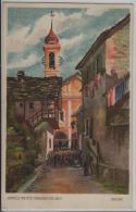 Brione - Aquarell Von Otto Honegger Dipl. Arch. - Litho - TI Tessin