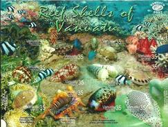 VANUATU 2006 Shells, Sea Snails, Marine Life, Fauna MNH