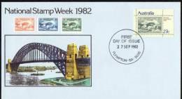 Australia 1982 National Stamp Week 27c FDC - Sydney Harbour Bridge - Ersttagsbelege (FDC)