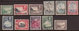 Bermuda 1936-40 Cancelled, Sc# 105-114