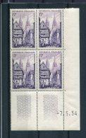 1786 - FRANCE  N°979   12Fr  Quimper   Du  7.5.54     SUPERBE