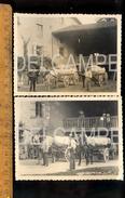 Photo Photographie : MONTBELLET Saône Et Loire : Le Moulin Bourbon Mr PERRIN Charretier MOREL Le Garde Célestin 1900's - Lieux