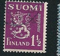 N° 150 Lion Héraldique    Timbre Finlande SUOMI (1930 1932 ) Oblitéré