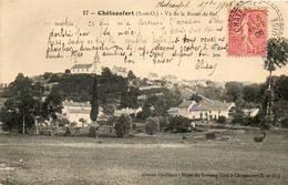 CPA - CHATEAUFORT (78) - Aspect Du Bourg Côté Route De Gif En 1906 - Autres Communes