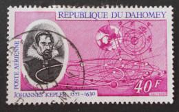 JOHANNES KEPLER ASTRONOME ALLEMAND 1971 - OBLITERE - YT PA 145 - MI 452 - Benin – Dahomey (1960-...)