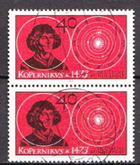 Germany Used Stamp In Pair - [7] Federal Republic