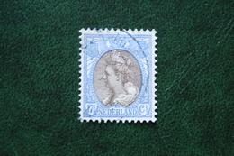 17 1/2 Ct Wilhelmina Bontkraag NVPH 67 (Mi 78) 1899-1921 1910 Gestempeld / USED NEDERLAND / NIEDERLANDE
