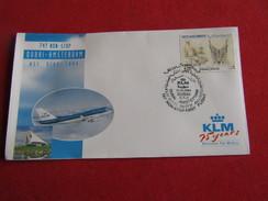 KLM 747 Non Stop - First Scheduled Flight - Dubai - Amsterdam 1994 - Avions