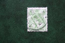 20 Ct Wilhelmina Bontkraag NVPH 68 (Mi 59 A) 1899-1921 Gestempeld / USED NEDERLAND / NIEDERLANDE