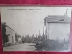 PONTAILLER SUR SAONE . ROUTE DE VONGES - France