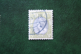 20 Ct Wilhelmina Bontkraag NVPH 69 (Mi 79 A) 1899-1921 1908 Gestempeld / USED NEDERLAND / NIEDERLANDE