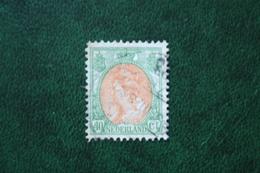 40 Ct Wilhelmina Bontkraag NVPH 73 (Mi 97) 1899-1921 1920 Gestempeld / USED NEDERLAND / NIEDERLANDE