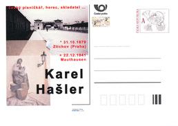 Czech Rep. / Postal Stat. (Pre2016/57) Karel Hasler (1879-1941) Cz. Songwriter, Actor, Lyricist, Film & Theatre Director