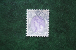 50 Ct Wilhelmina Bontkraag NVPH 75 (Mi 80 A) 1899-1921 1914 Gestempeld / USED NEDERLAND / NIEDERLANDE