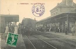 PIE-D-17-279 : CHEMIN DE FER. TRAIN. LA GARE DE ROBINSON - Le Plessis Robinson
