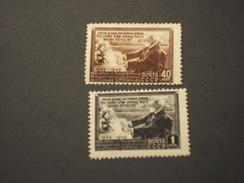RUSSIA - 1949 Pawlov 2 VALORI  - NUOVI(++)